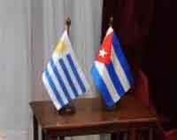 Con la visita del presidente cubano a Uruguay, ambas naciones fortalecen sus vínculos.