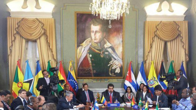 """""""Hoy Venezuela no está sola, y nuestra región no es la misma de hace 20 años"""", aseguró Raúl."""