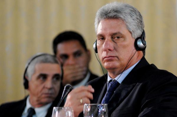 Díaz-Canel llamó a defender el proyecto energético Petrocaribe. Foto AIN.