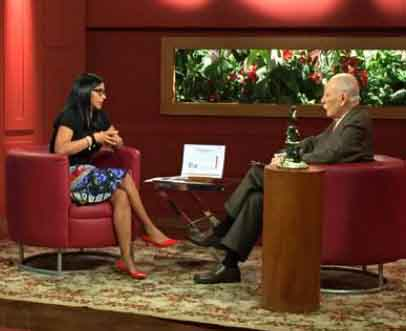 La canciller venezolana participó en el programa José Vicente Hoy, del canal privado Televen, conducido por el periodista y expresidente José Vicente Rangel.