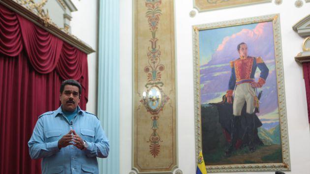 """""""Son los mismos conjurados, son los mismos intereses, son los mismos fascistas"""", expresó Maduro."""