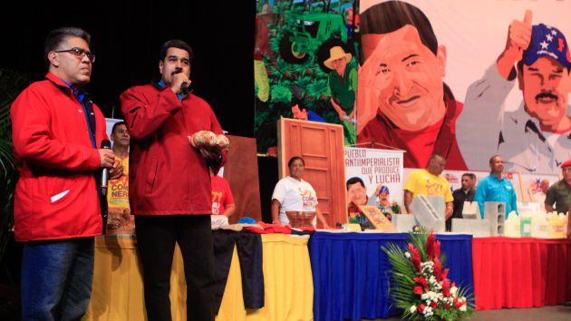 Ante los nuevos ataques de la oposición para desestabilizar al país, Maduro instó al pueblo unido a estar en máxima alerta. Foto AVN.