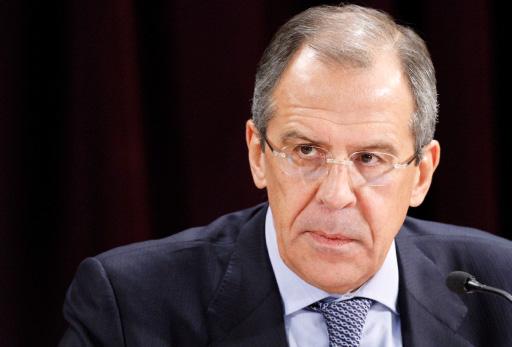 Serguéi Lavrov, Ministro de Asuntos Exteriores de Rusia.