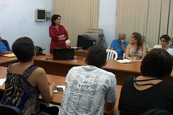 Entre los elementos más relevantes de la cita figuró la conferencia impartida por la doctora Livia Reyes.