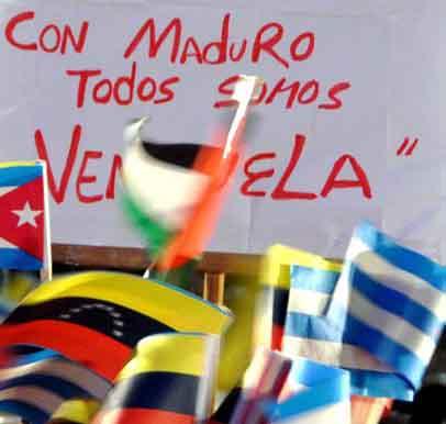 Como en el resto del país, los espirituanos reiteran su apoyo a Venezuela.