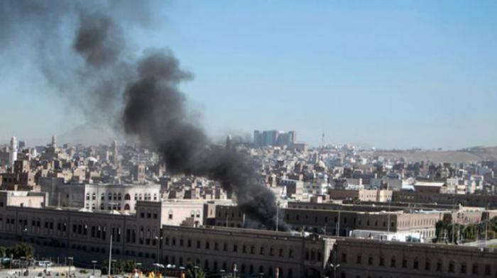 La capital yemenita ha estado bajo una lluvia de bombas.