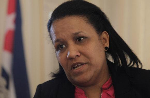 """Anayansi Rodriguez considera que """"es posible un dialogo civilizado sobre cualquier tema, incluyendo los derechos humanos""""."""