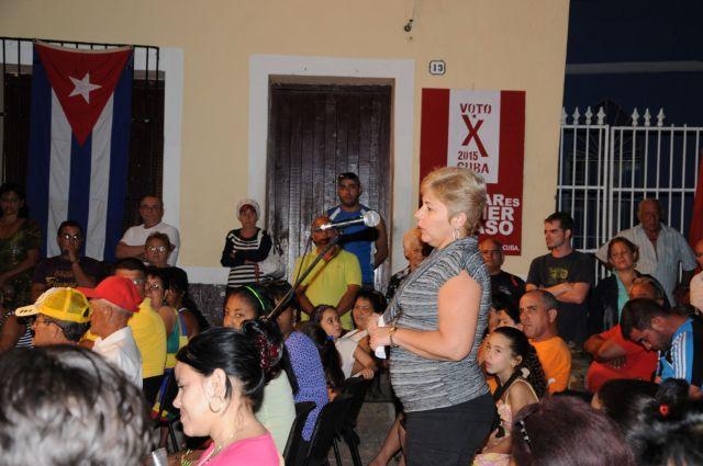 sancti spiritus, asambleas de nominacion, elecciones en cuba, poder popular