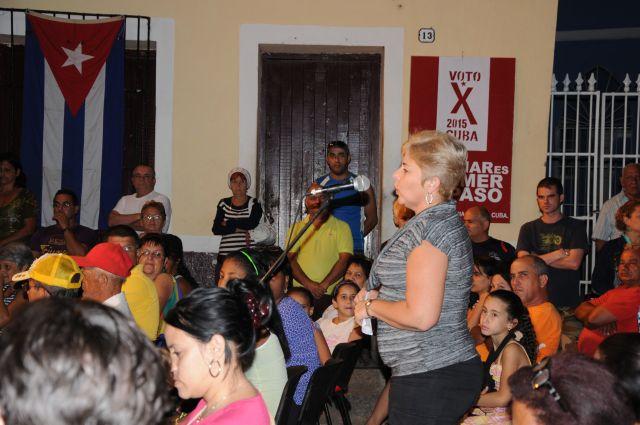 sancti spiritus, elecciones parciales en cuba, asambleas de nominacion, mujeres, jovenes