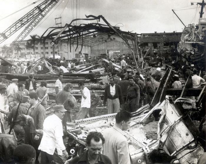 Presentan libro sobre explosión al barco La Coubre en La Habana