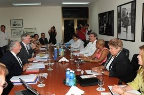 Esta tercera ronda de conversaciones para un Acuerdo de Diálogo Político y Cooperación seguirá este jueves.