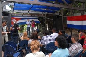 Más de 500 jóvenes se dieron cita en el Foro de La Juventud y las Américas que queremos, que sesionó en La Habana.