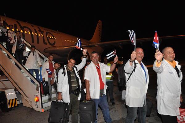 cuba, ebola, colaboradores cubanos, sierra leona, liberia,