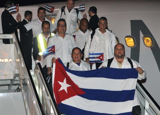 cuba, medicos cubanos, africa occidental, liberia, sierra leona, ebola, oms