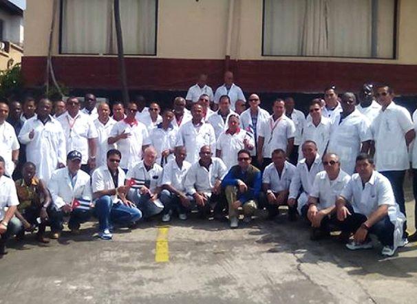 ebola, medicos cubanos, africa occidental, liberia, cuba