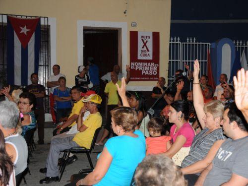 sancti spiritus, elecciones, nominacion de candidatos, elecciones parciales en cuba