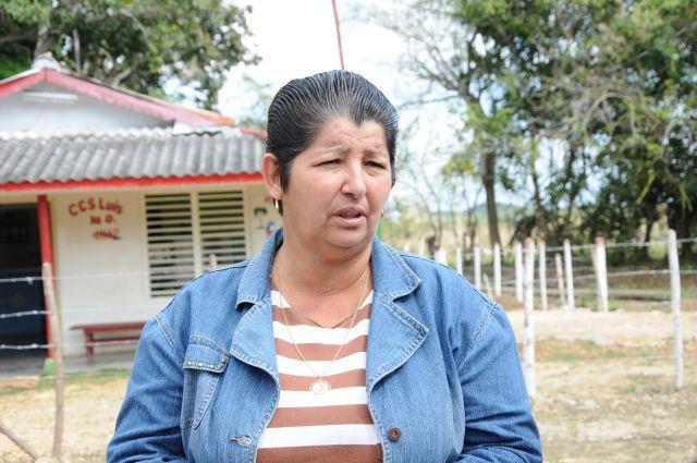 Pilar Martínez Hernández resultó electa delegada directa al XI Congreso de la ANAP por el municipio de Yaguajay.