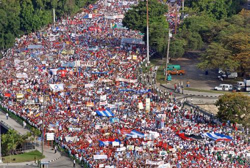 cuba, primero de mayo, dia internacional de los trabajadores, ctc