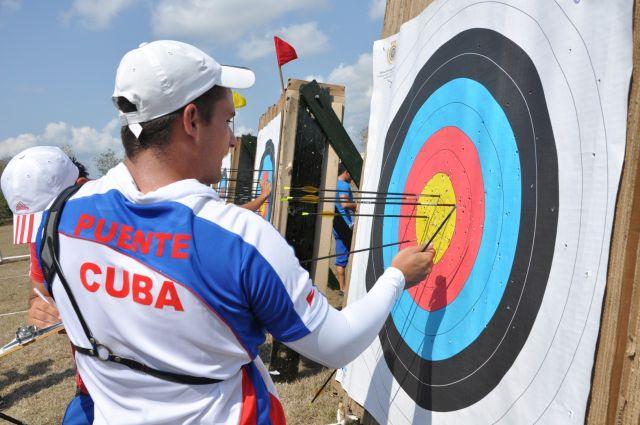El Torneo reúne a los mejores representantes de la arquería cubana.
