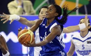 Yamara Amargo es la principal jugadora de la selección cubana.