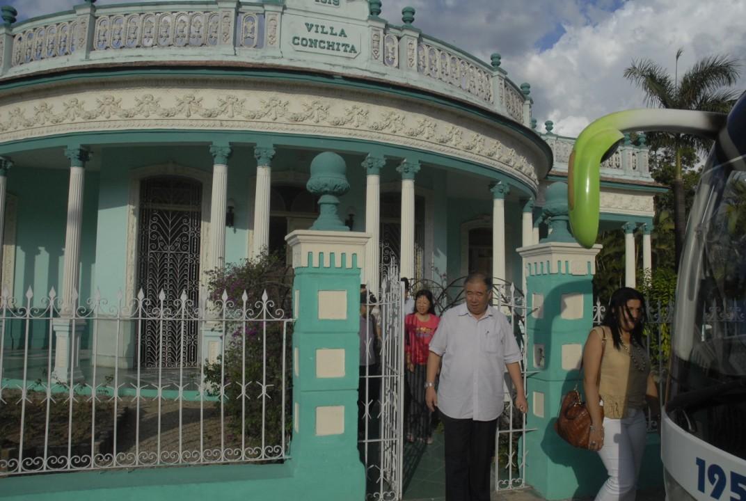 El Hogar de Niños sin amaparo familiar resultó otro de los centros visitados.