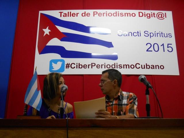 Taller de Periodismo Digital Sancti Spíritus 2015 (Foto: Escambray).