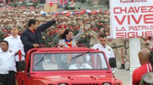 Maduro participó en el acto conmemorativo por el Día de la Milicia Bolivariana.