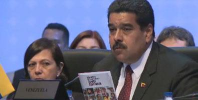 Maduro señaló que Venezuela está bajo agresión, amenaza, y debe ser desmontada.