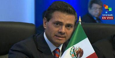 Peña Nieto extendió un reconocimiento al proceso de paz en Colombia.