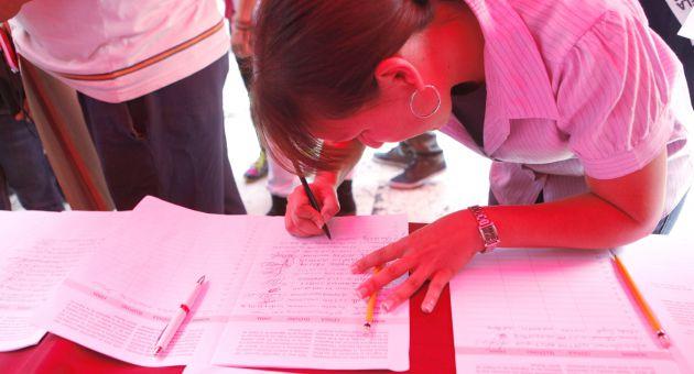 Ya en Venezuela se rebasaron los nueve millones de firmas.