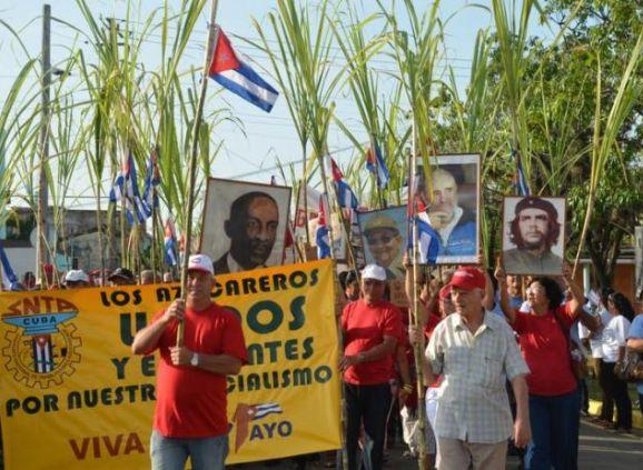 sancti spiritus, dia internacional de los trabajadores, primero de mayo, proletariado cubano