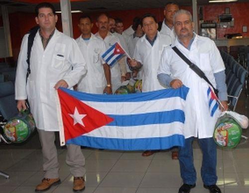 cuba, chile, medicos cubanos, intensas lluvias