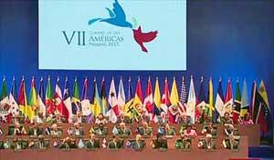 La VII Cumbre de las Américas inició con la participación de la mayoría de los mandatarios de la región.