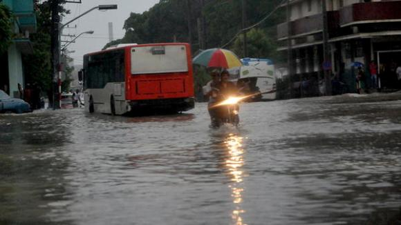 lluvias La Habana