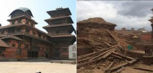 El viejo Palacio Real de Katmandú quedó totalmente destruido, luego del sismo. Esta estructura pertenecía a una de las joyas arquitectónicas del país.