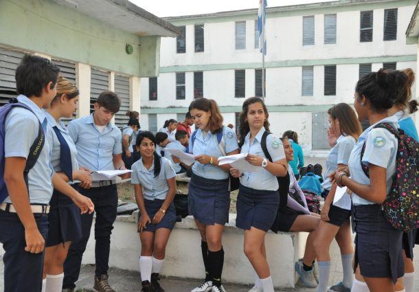 En las pruebas de ingreso a la Educación Superior se juega el destino profesional de los jóvenes. (foto: Vicente Brito)