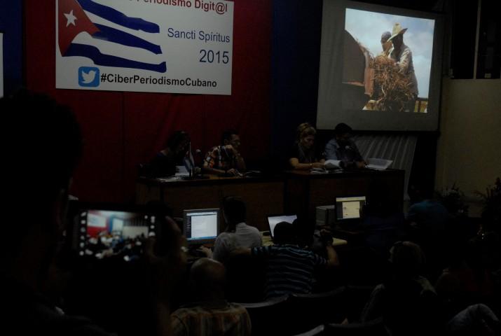 Taller de Periodismo Digital Sancti Spíritus 2015 (Foto: Reidel Gallo).