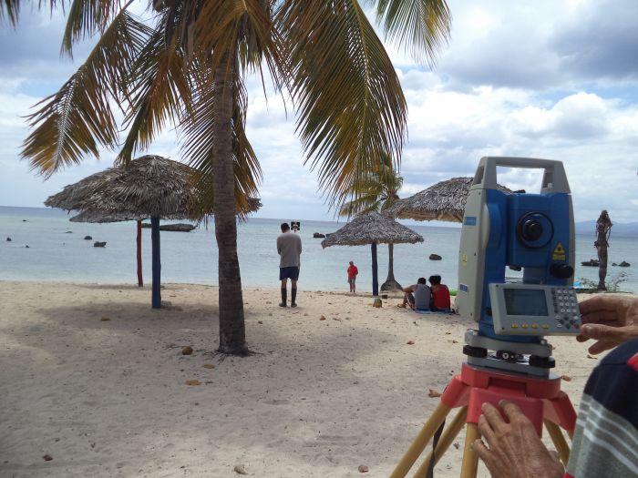 Los estudios de perfiles en la península forman parte del proyecto Macro que monitorea las principales playas cubanas.