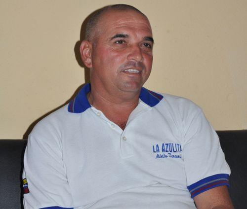 Nelson Ventura, comisionado del béisbol en Sancti Spíritus.