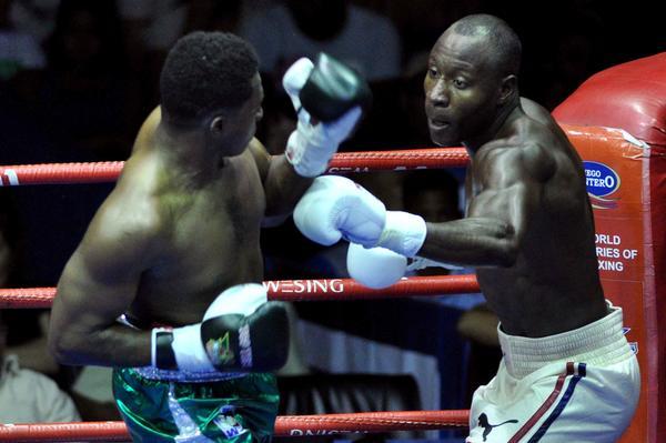 Con seis triunfos ante los mexicanos, los Domadores cubanos ya garantizaron el acceso a al final de la Serie Mundial de Boxeo. Foto AIN.
