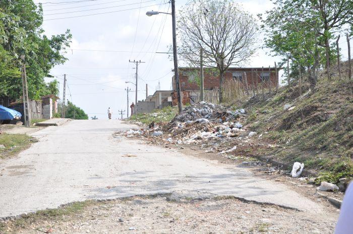 La zona de desarrollo Camino de La Habana aún padece diversos males.
