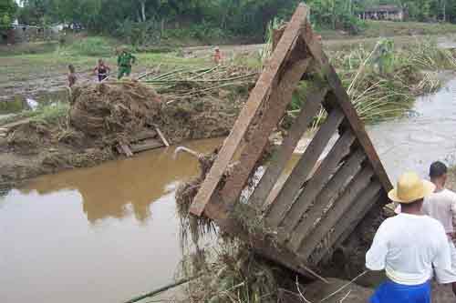 Las intensas lluvias registradas a mediados del pasado año arruinaron la mayoría de los viales de la región montañosa