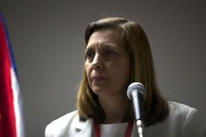 La directora de Estados Unidos de la cancillería cubana, Josefina Vidal. encabezará nuevamente la comitiva de la Isla.