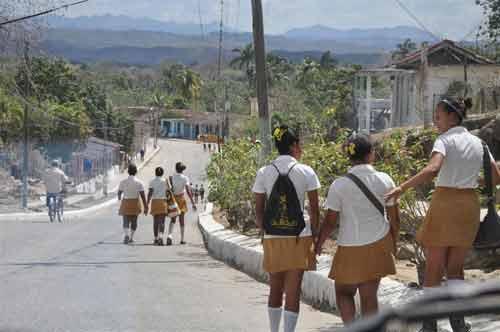 Zonas intrincadas del Escambray han recibido los beneficios del proyecto de atención comunitaria. Foto: Vicente Brito