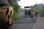 Las fuerzas de la ECOI-30 ya han colocado más de 5 200 toneladas de asfalto en el vial.