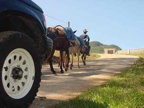 La carretera a Topes de Collantes constituye un enlace estratégico para la región.