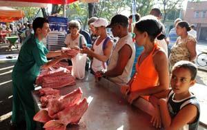 Cuba está hoy entre las 16 naciones con éxitos en la reducción del hambre en América Latina y el Caribe.