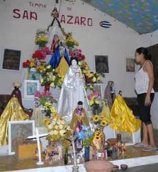 El templo de San Lázaro constituye un símbolo espiritual de la comunidad