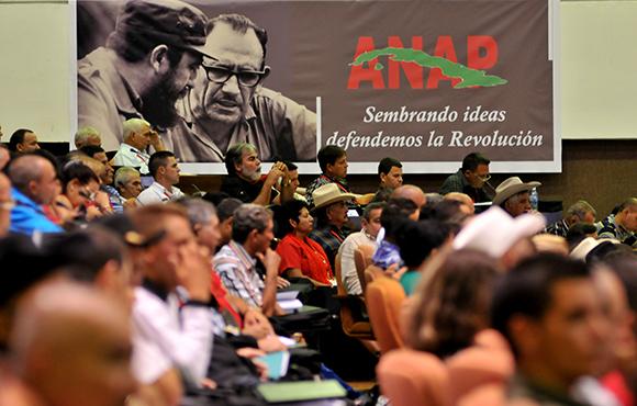 cuba, congreso de la anap, campesinos cubanos, raul castro, machado ventura
