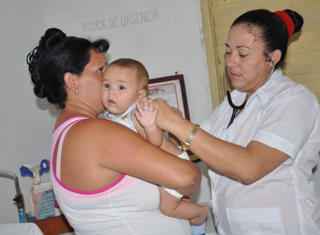 sancti spiritus, plan turquino, salud publica, consultorio medico de la familia, mortalidad infantil